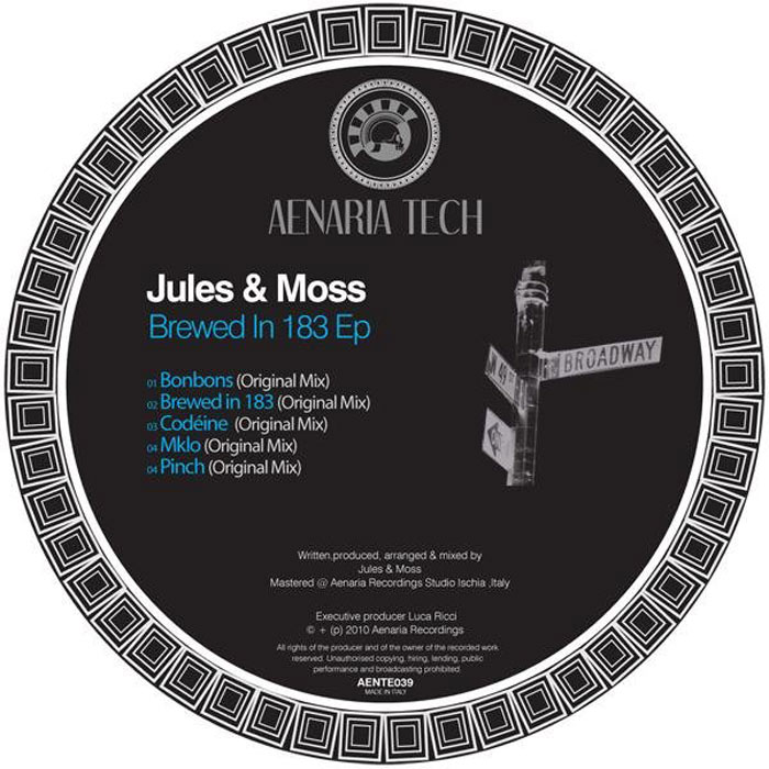 Jules & Moss - Brewed In 183 EP [2010]