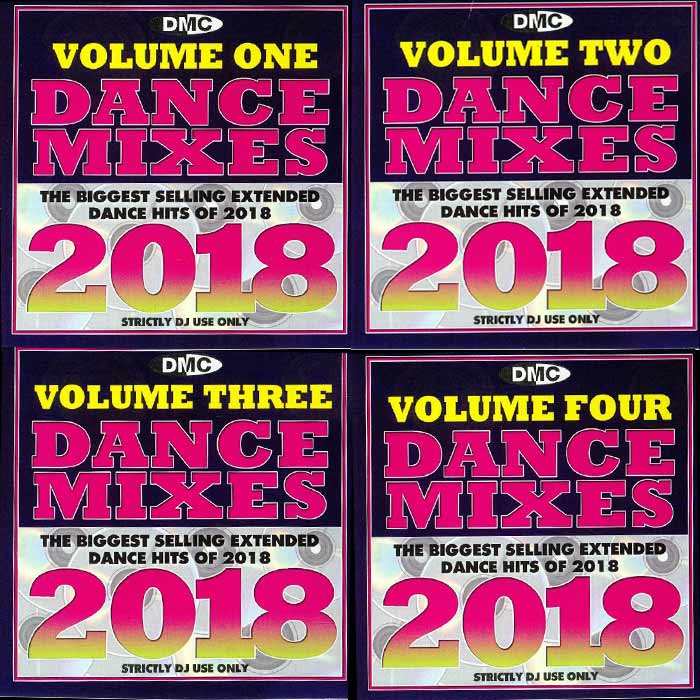 DMC Dance Mixes Vol. 1-4 (The Biggest Selling Extended Dance Hits Of 2018 - Strictly DJ Only) [2019]