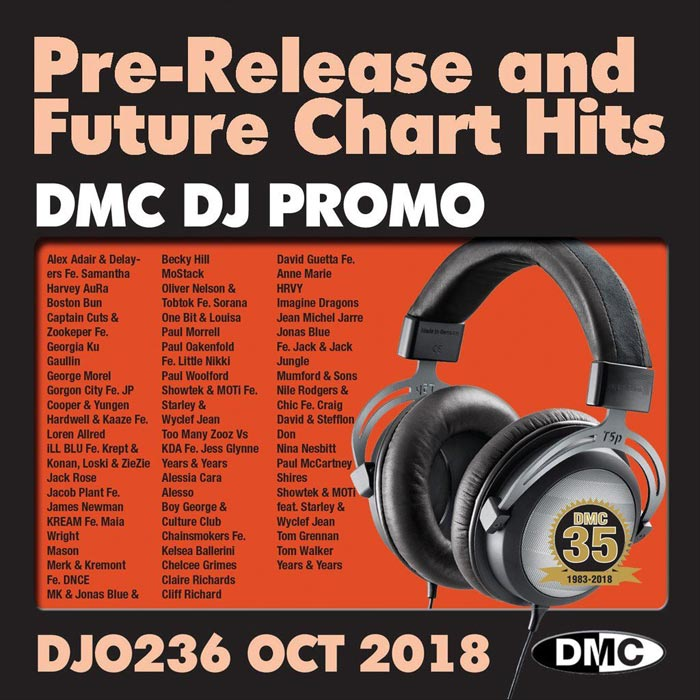 DJ Promo October 2018: Pre Release & Future Chart Hits (Strictly DJ Only) [2018]