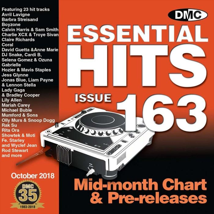DMC Essential Hits 163 (Strictly DJ Only) [2018]