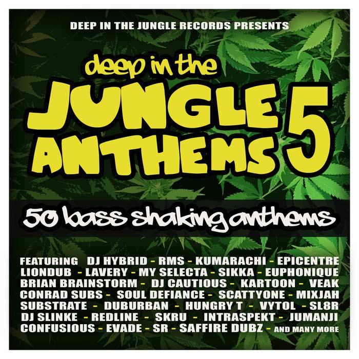 Deep In The Jungle Anthems 5 [2019]