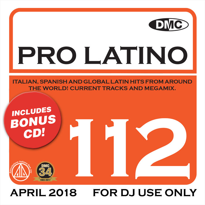DMC Pro Latino 112: April 2018 (Strictly DJ Only) [2018]