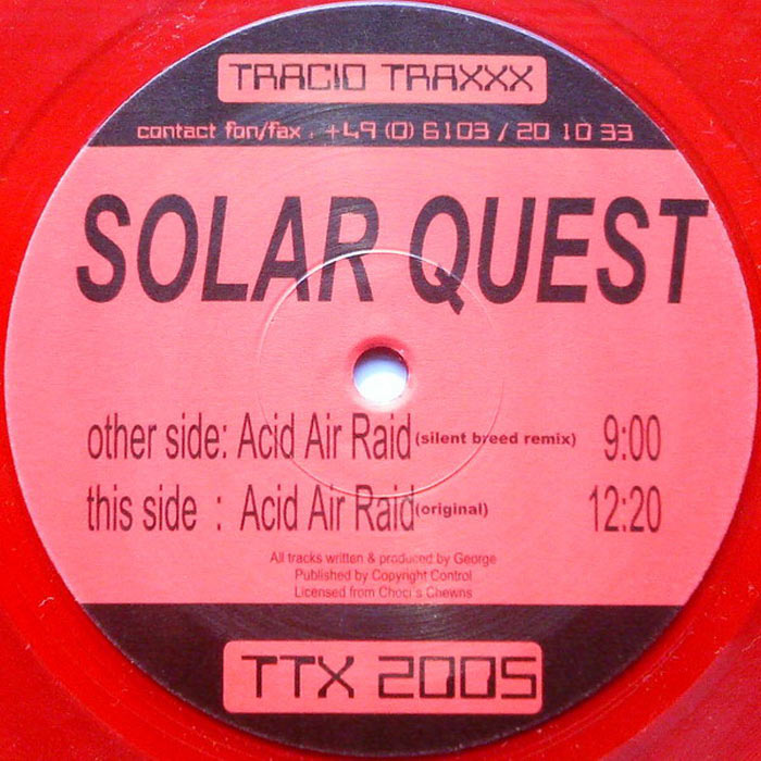 Solar Quest - Acid Air Raid