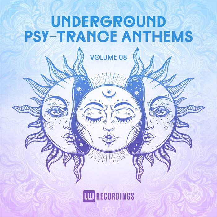 Underground Psy-Trance Anthems (Vol. 08) [2019]