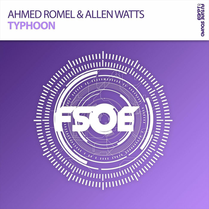 Ahmed Romel & Allen Watts - Typhoon (Extended Mix)